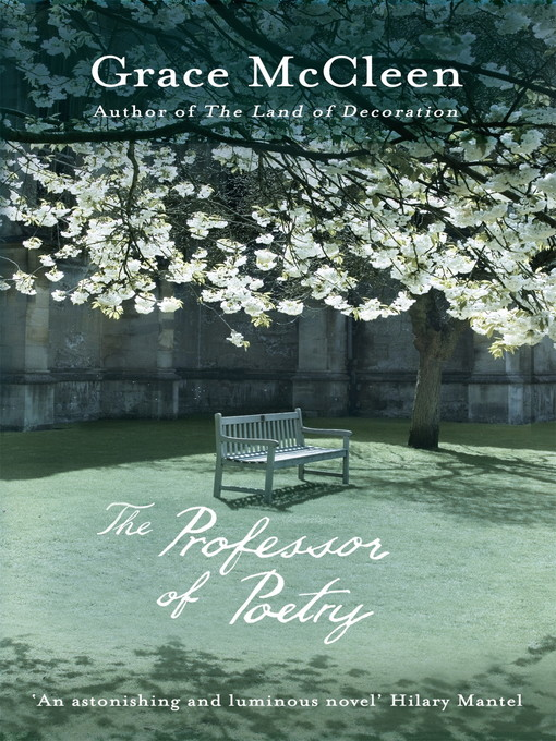 The Professor of Poetry (eBook)