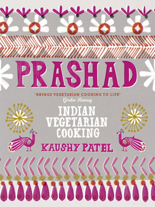 Prashad Cookbook (eBook): Indian Vegetarian Cooking