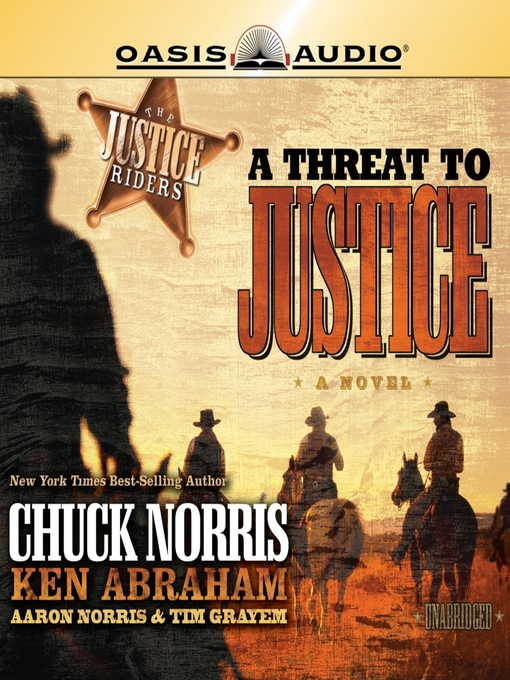 A Threat to Justice (MP3): The Justice Riders Series, Book 2