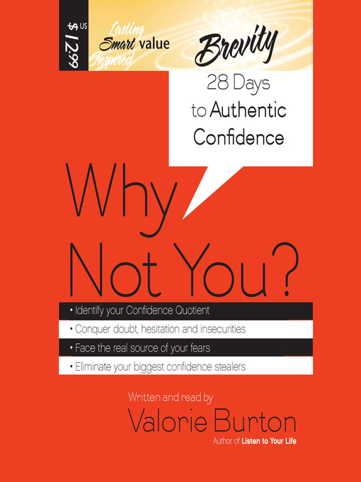 Why Not You? (MP3): 28 Days to Authentic Confidence
