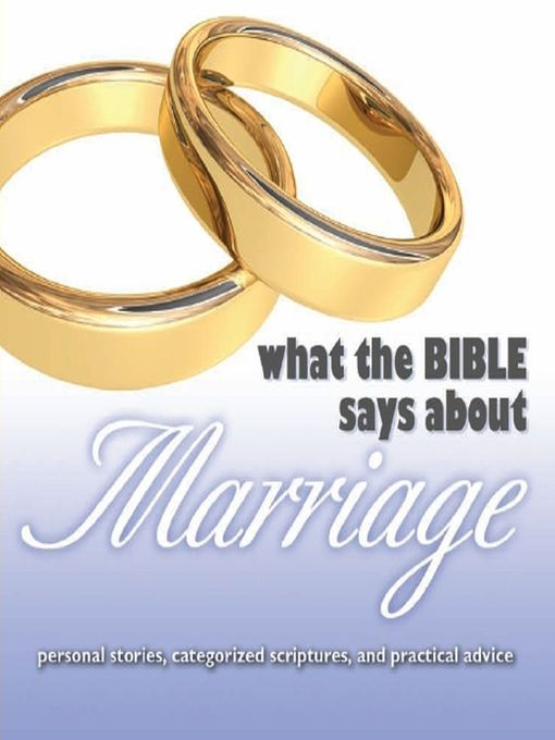 What the Bible Says About Marriage (MP3)