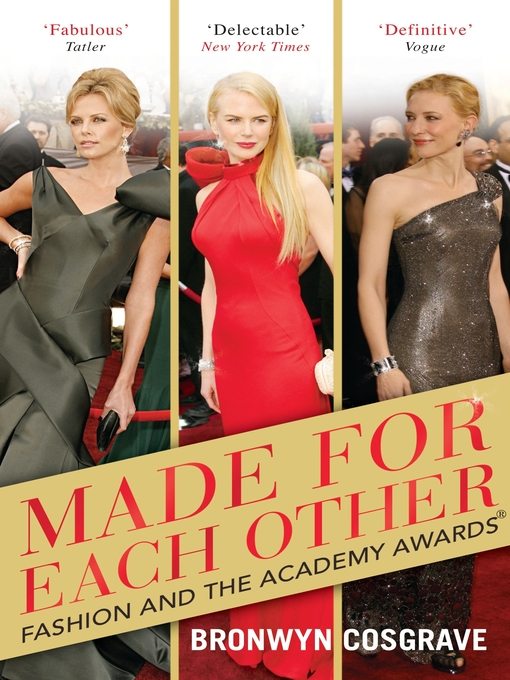 Made for Each Other (eBook): Fashion and the Academy Awards