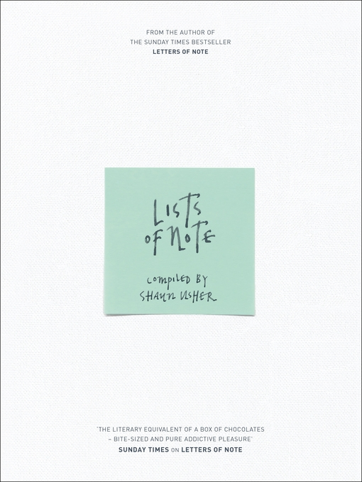 Lists of Note (eBook)