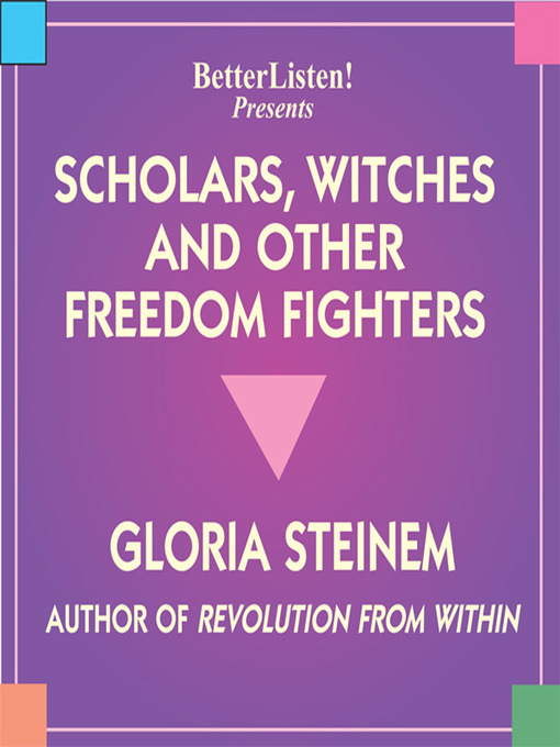 Scholars, Witches and Other Freedom Fighters (MP3)