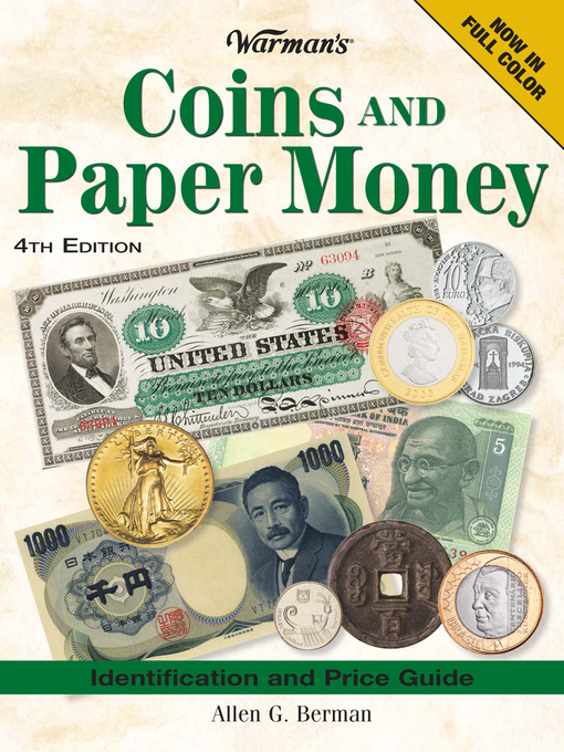 Warman's Coins And Paper Money (eBook): Identification and Price Guide