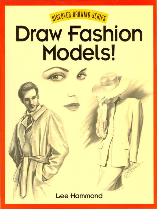 Model Drawing Draw Fashion Models