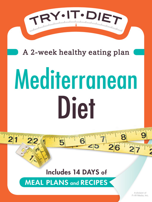 Try-It Diet: Mediterranean Diet (eBook): A Two-Week Healthy Eating Plan