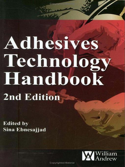 Adhesives Technology Handbook (eBook)