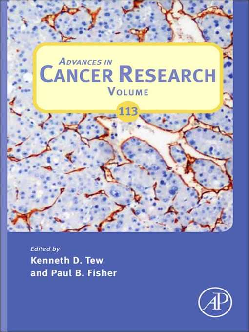 Advances in Cancer Research - Advances in Cancer Research (eBook)