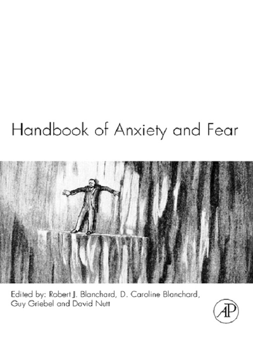 Handbook of Anxiety and Fear - Handbook of Behavioral Neuroscience (eBook)