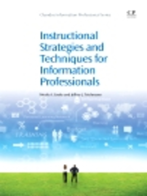 Instructional Strategies and Techniques for Information Professionals - Chandos Information Professional (eBook)