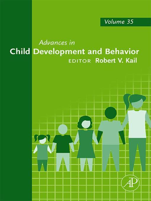 Advances in Child Development and Behavior (eBook)