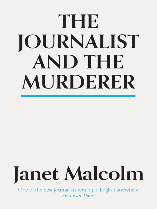 The Journalist and the Murderer (eBook)