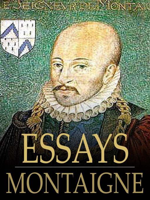 montaignes essays