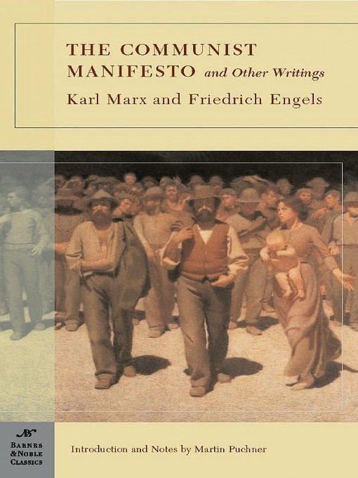 Essay about the communist manifesto