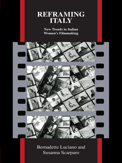 Reframing Italy (eBook): New Trends in Italian Women's Filmmaking