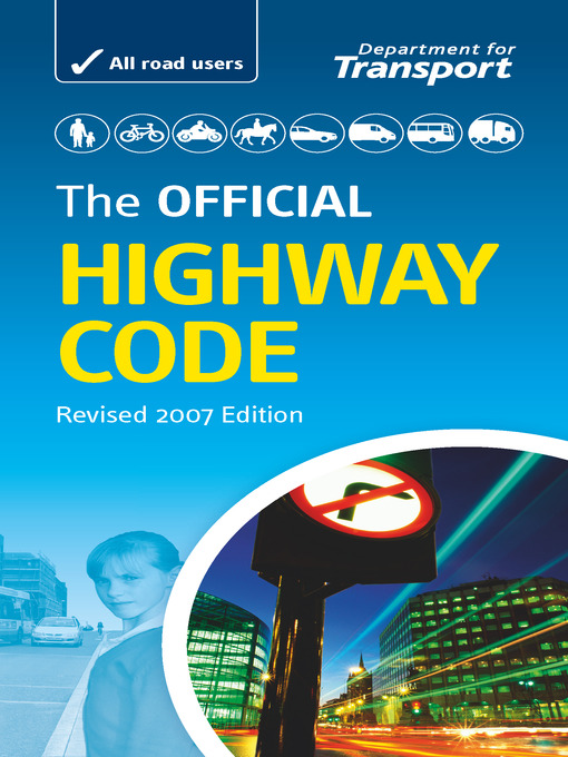 The Official Highway Code (eBook)