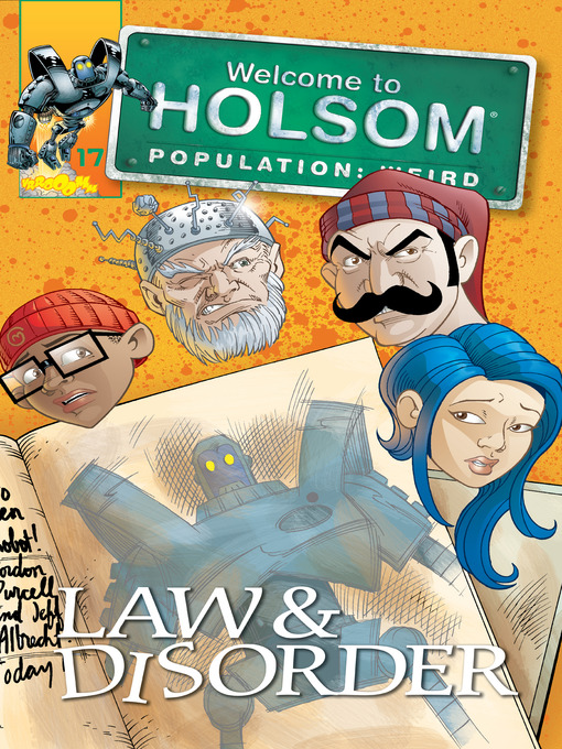 Law & Disorder (eBook): Welcome to Holsom Comic Series, Book 17