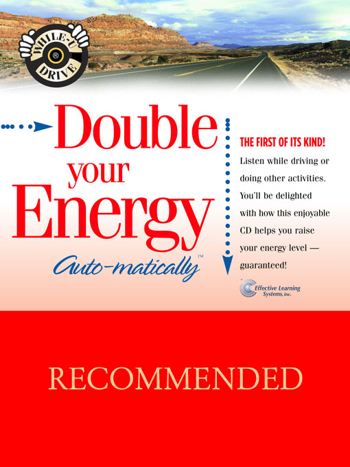 Double Your Energy...Auto-matically - While-U-Drive (MP3)