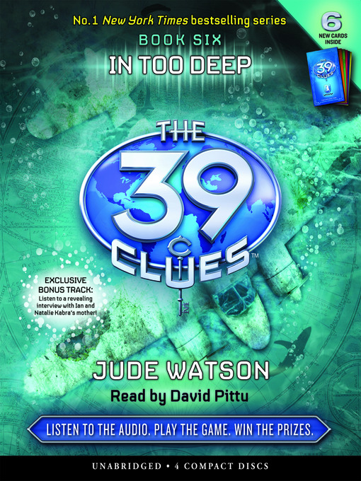 In Too Deep: The 39 Clues Series, Book 6 - The 39 Clues (MP3)