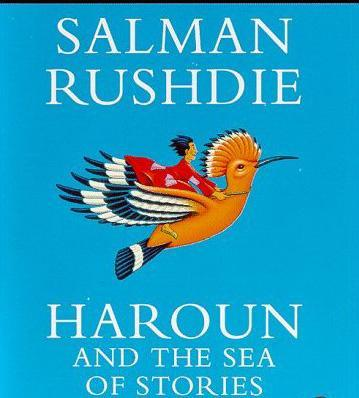 hauroun and the sea of stories Set in an exotic eastern landscape peopled by magicians and fantastic talking animals, salman rushdie's classic children's novel haroun and the sea of stories inhabits the same imaginative space as gulliver's travels , alice in.