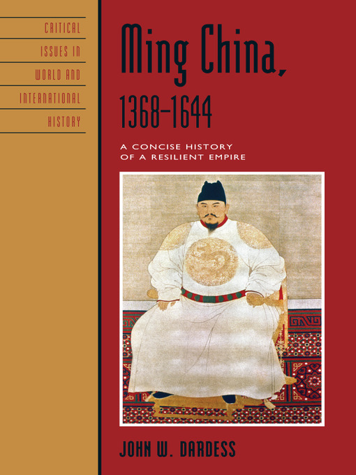 ming china 1368 1644 a concise history of a resilient empire