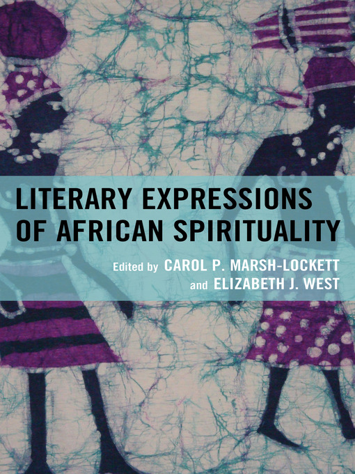 Literary Expressions of African Spirituality (eBook)