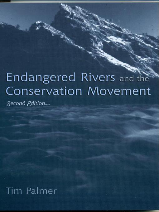 Endangered Rivers and the Conservation Movement (eBook)