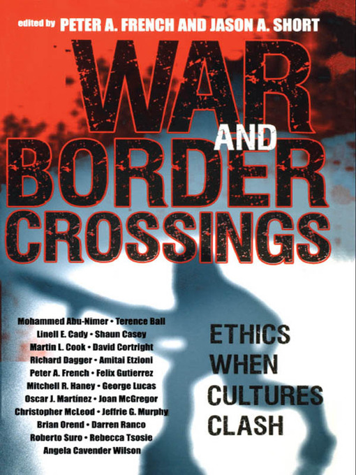 War and Border Crossings (eBook): Ethics When Cultures Clash