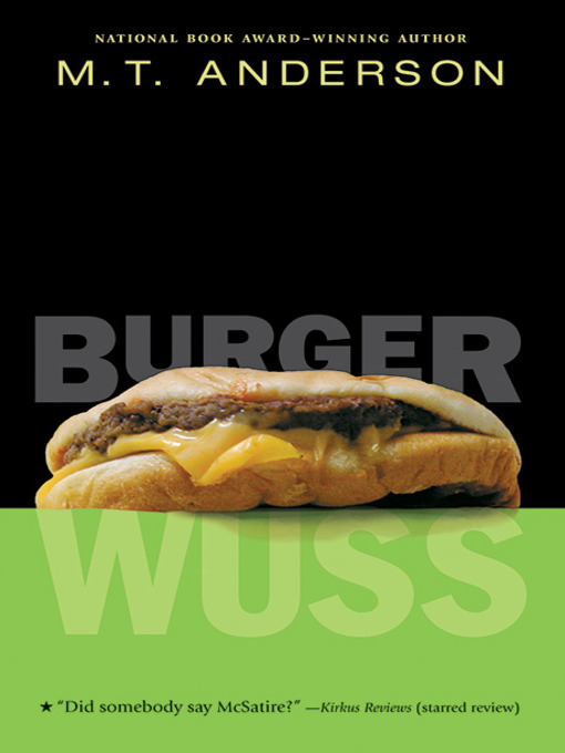 burger wuss bookjacket
