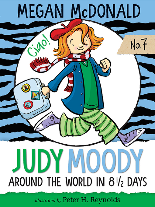 Cover image for Judy Moody: Around the World in 8 1/2 Days