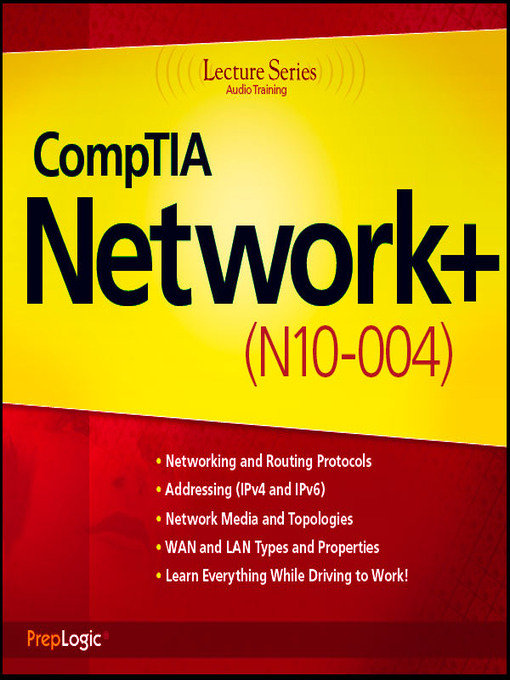 CompTIA Network+ (N10-004): N10-004 LS - Lecture (MP3)