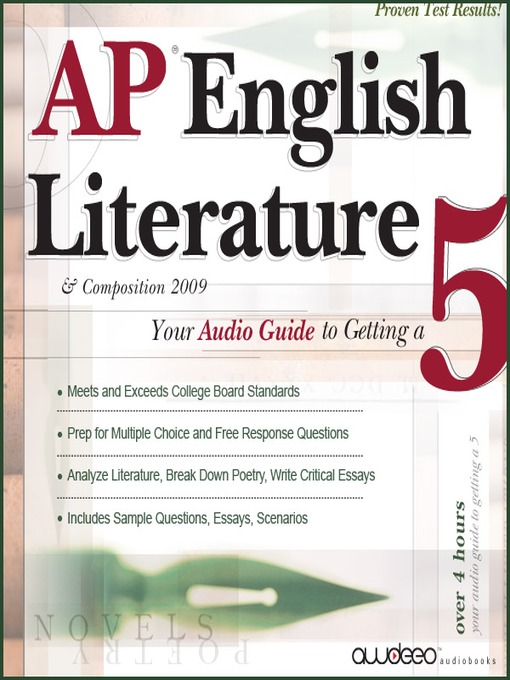 AP® English Literature & Composition 2009 Edition (MP3): Your Audio Guide to Getting a 5