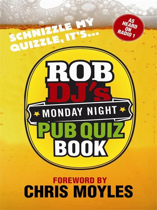 Rob DJ's Monday Night Pub Quiz Book (eBook)