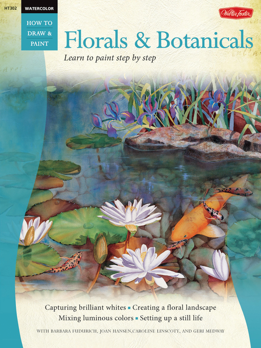 Florals & Botanicals (eBook): Learn to Paint Step by Step