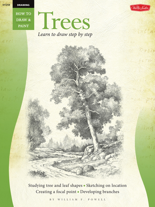 Trees (eBook): Learn to Draw Step by Step