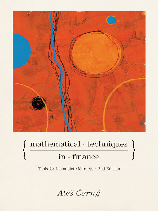 Mathematical Techniques in Finance (eBook): Tools for Incomplete Markets
