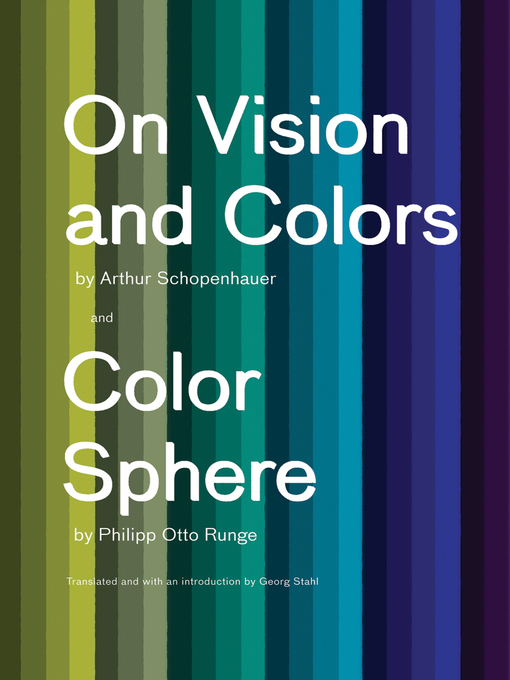On Vision and Colors (eBook): On Vision and Colors; Color Sphere