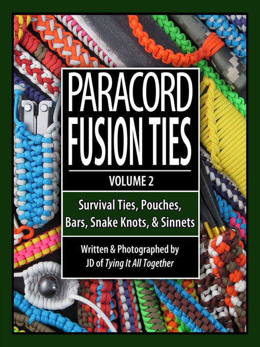 Picture of Paracord Fusion Ties, Volume 2