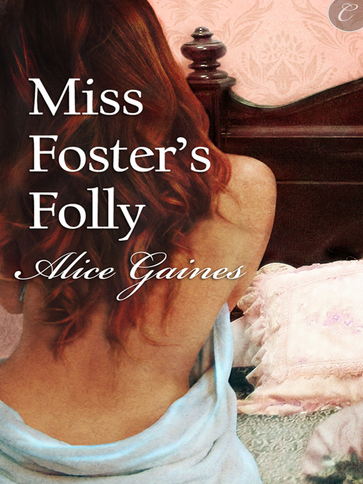 Miss Foster's Folly cover
