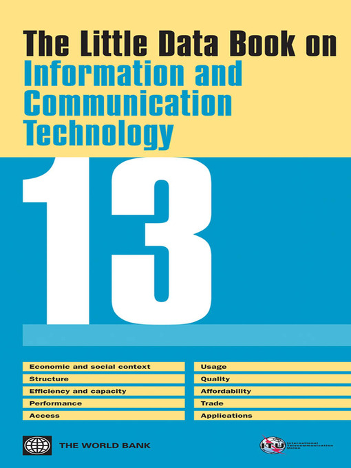 The Little Data Book on Information and Communication Technology 2013 (eBook)