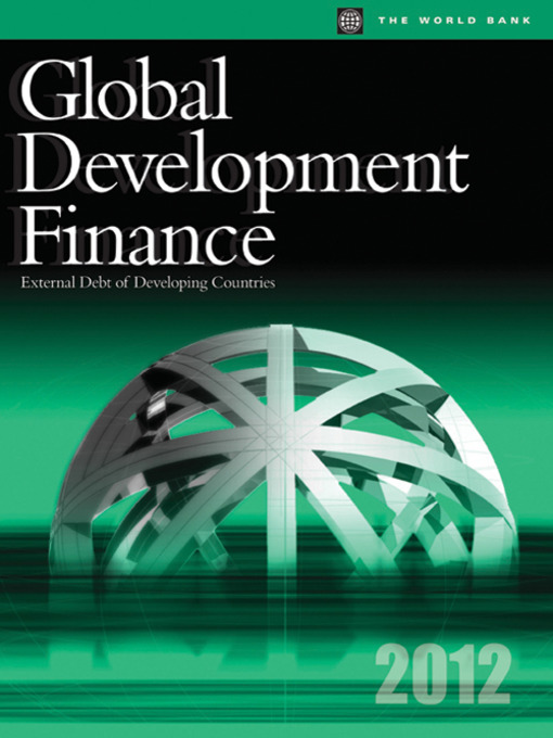 Global Development Finance 2012 (eBook): External Debt of Developing Countries