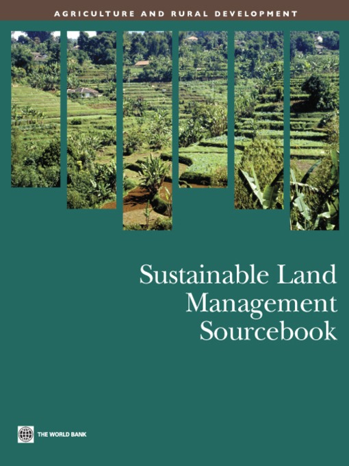 Sustainable Land Management Sourcebook (eBook)