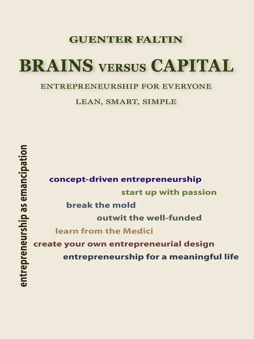 Brains Versus Capital (eBook): Entrepreneurship for Everyone - Lean, Smart, Simple