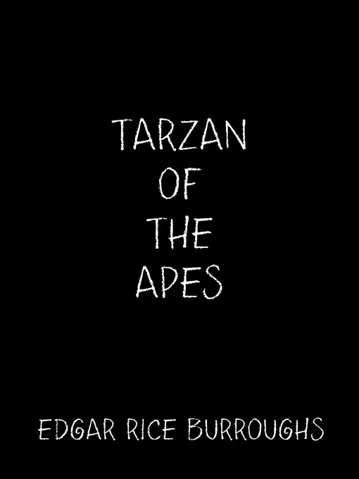 Tarzan of The Apes Book Tarzan of The Apes Ebook
