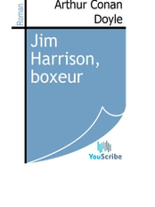 Jim Harrison, boxeur (eBook)