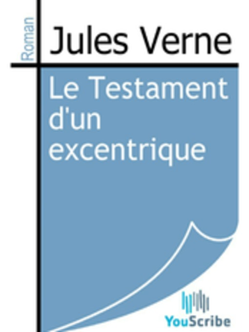 Le Testament d'un excentrique (eBook)
