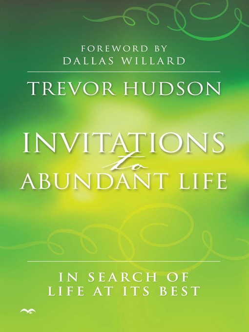 Invitations to Abundant Life book cover