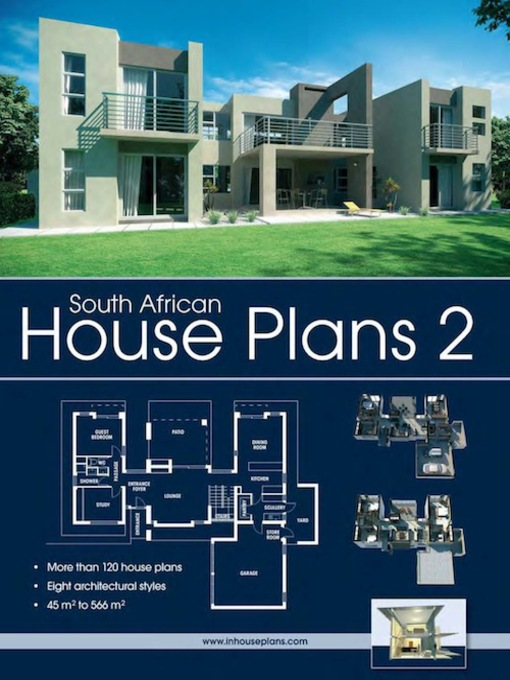South african house plans 2 by inhouseplans waterstones for Modern house design books pdf