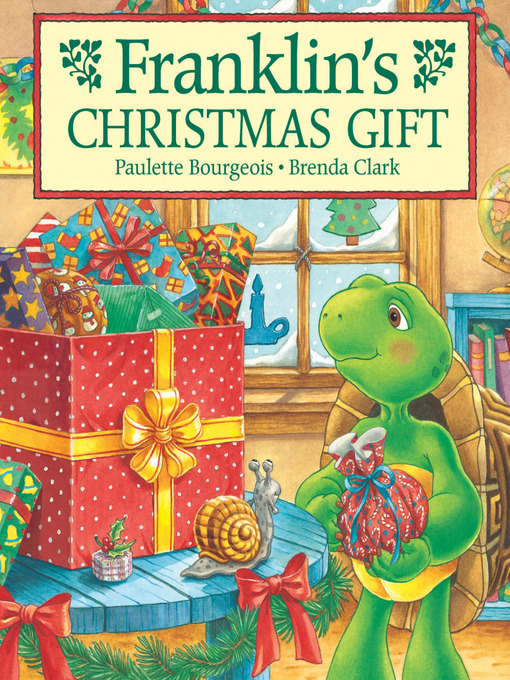 Cover image for Franklin's Christmas Gift